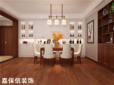 伴山壹号紫林园三室二厅150平装修效果图