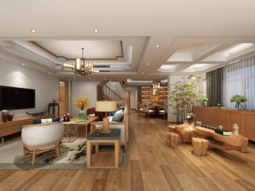 光明卫光花园五室二厅220平装修效果图