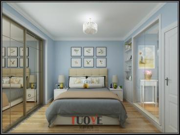 信义庄西街小区现代简约三室一厅装修效果图