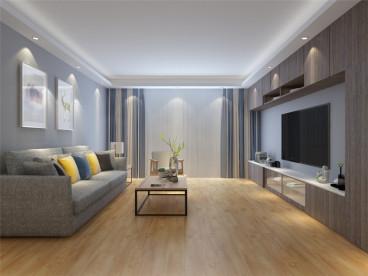 天津富力湾北欧三室二厅装修效果图