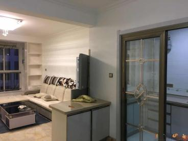 新潮尚书台现代简约二室一厅装修效果图