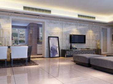合肥柏景湾90平三室二厅装修效果图
