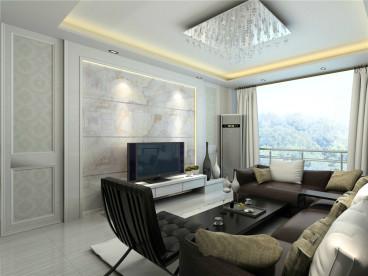 裕华园二室一厅84平装修效果图