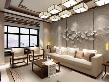 金伦公寓现代简约156平装修效果图