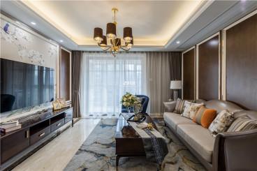 现代名苑三室二厅125平装修效果图