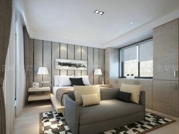 世家留园400平四室三厅装修效果图