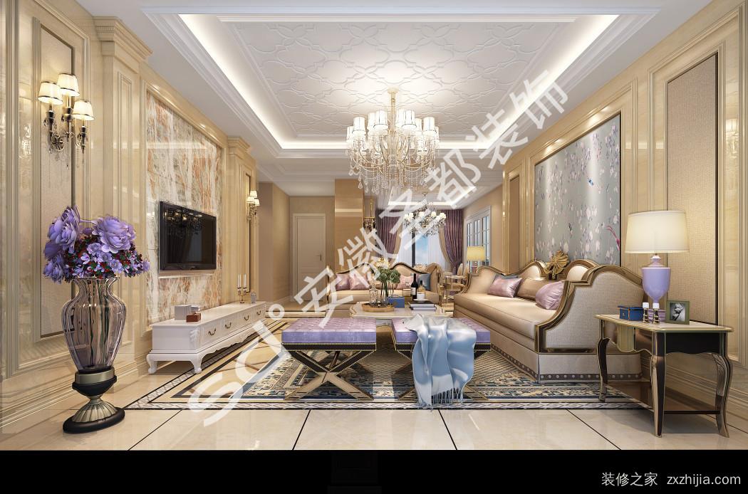 海亮九玺160平四室二厅装修效果图