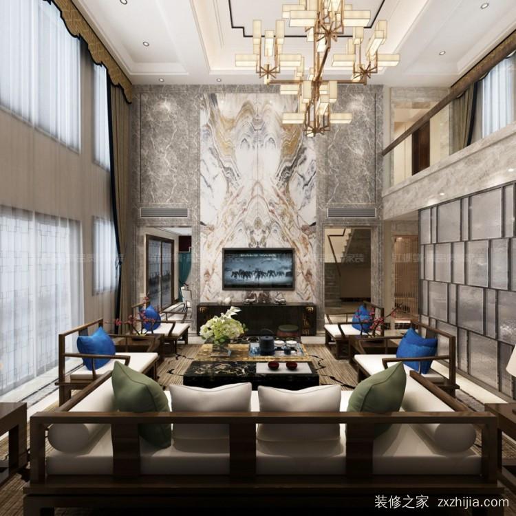 新湖仙林翠谷别墅八室四厅500平装修效果