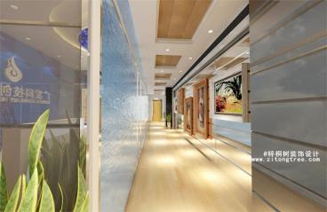 广发科技设备展厅公装效果图