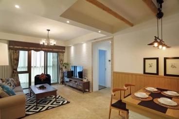 龙景逸墅全包二室一厅装修效果图