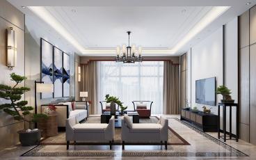 浪漫和山别墅六室三厅1100平装修效果图