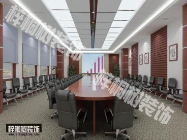 堤口路名泉广场办公室装修效果图