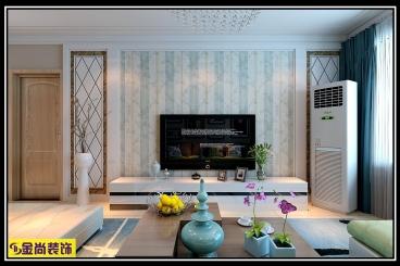 百步亭二室一厅现代简约装修效果图