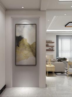 紫玉名苑二室一厅89平装修效果图