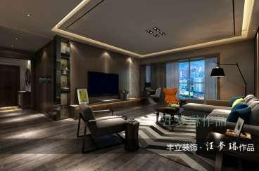 金融城月华轩四室二厅150平装修效果图
