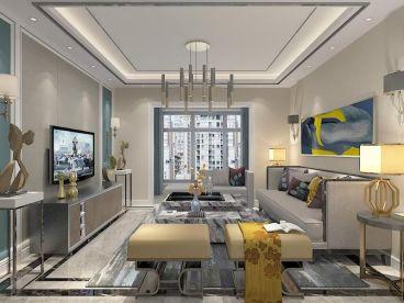 怡馨家园三室二厅139平装修效果图