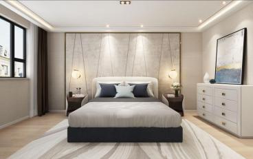 恒福新城|二室一厅88平装修效果图