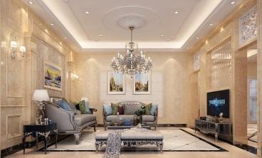 自建别墅室四厅360平装修效果图