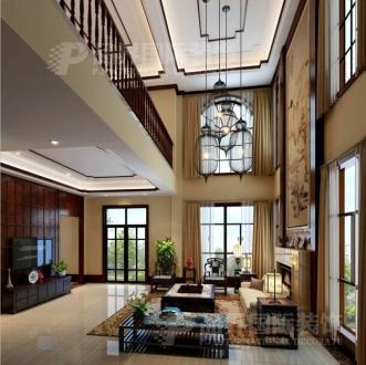 南山庆隆山外山五室三厅半包装修效果图