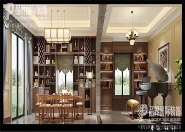 融创玫瑰园半包八室三厅装修效果图