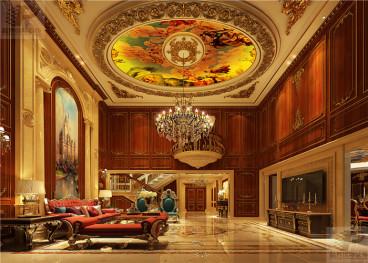 恒大御景半岛五室二厅400平装修效果图