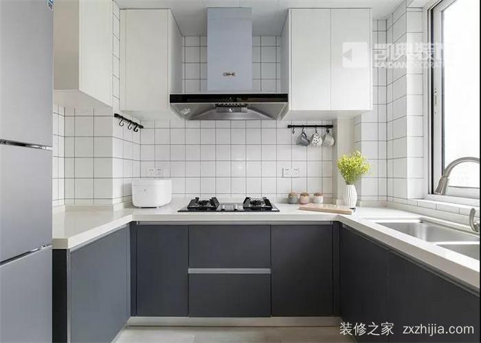 华新城1期北欧厨房效果图