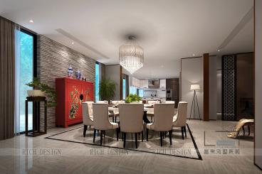 东逸湾剑桥印象全包五室四厅装修效果图