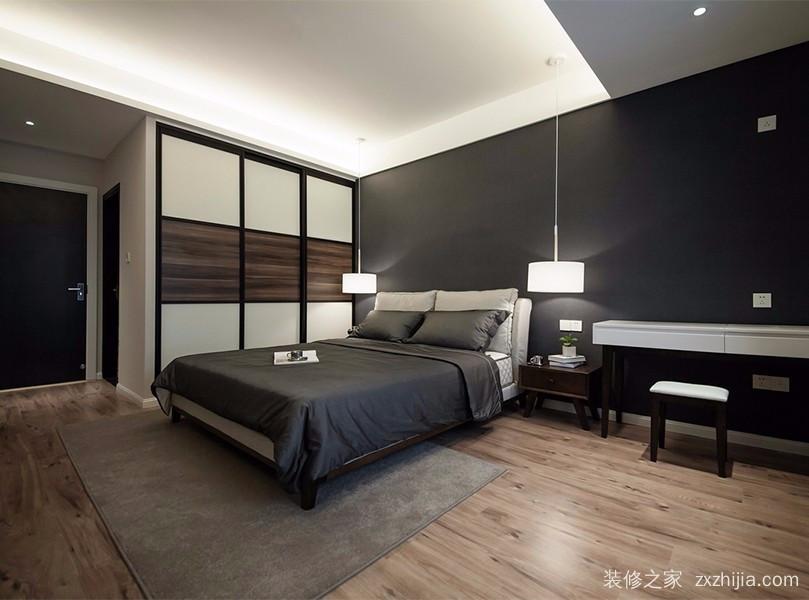 和顺新里程现代简约卧室效果图