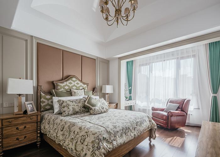 小桃园2栋5单元美式卧室效果图