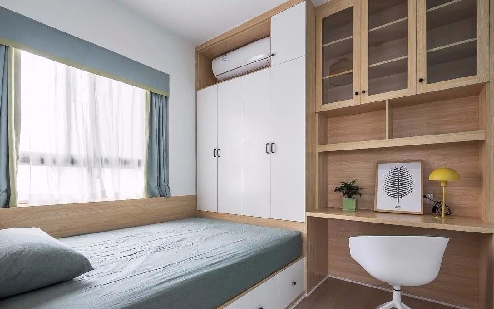 朗琴园北欧卧室效果图