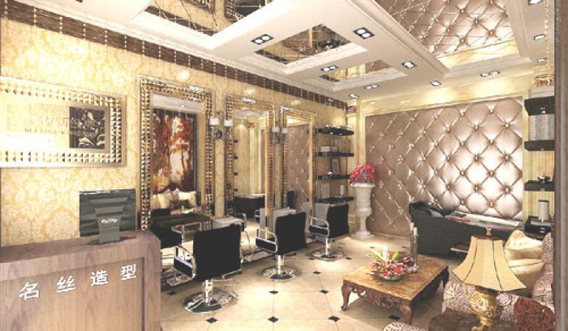 商业空间 风格:欧式古典风格面积:30㎡报价:3~4万 描述:理发店