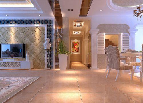 典雅欧式客厅设计