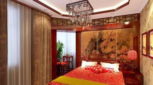 新中式卧室吊顶设计