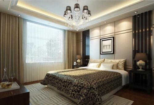 新中式卧室吊顶图片