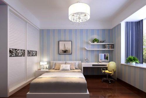 地中海卧室效果图