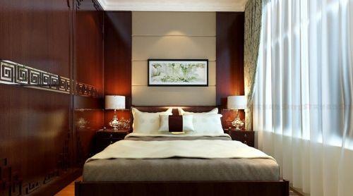 典雅新中式卧室图片