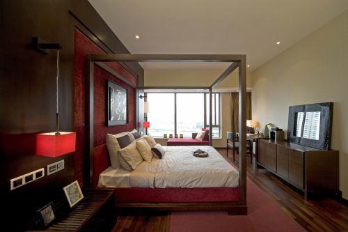 东南亚卧室背景墙设计