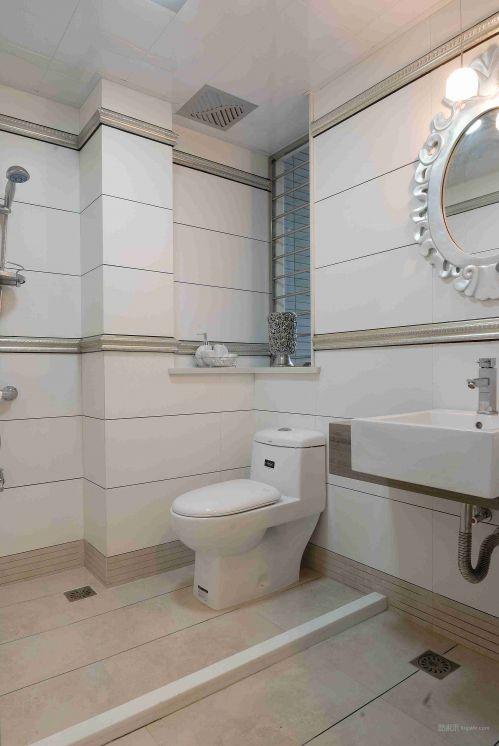 恬淡悠闲的卫生间设计