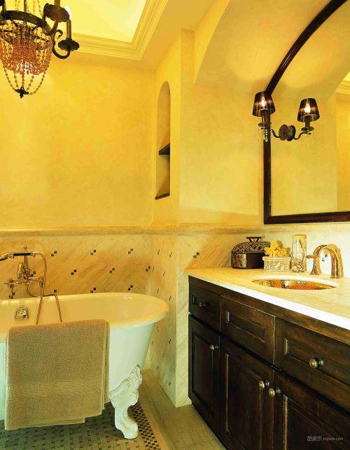 温馨舒适的卫生间设计