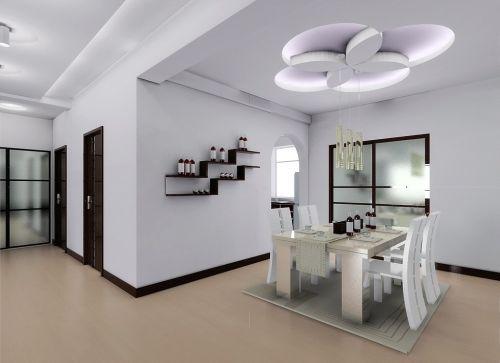 日式风格室内小餐厅图片