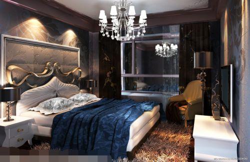 新古典卧室背景墙图片