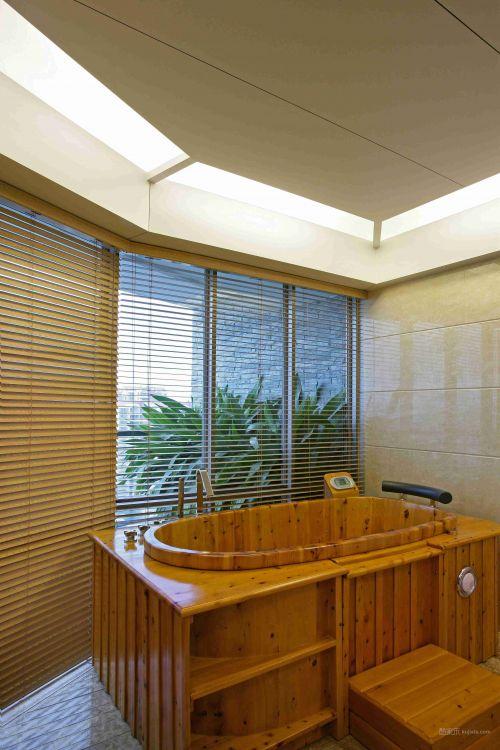 木质卫生间装潢