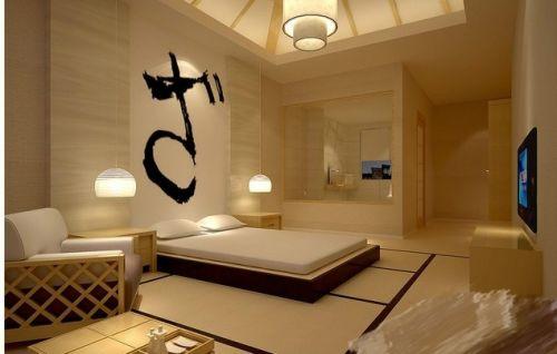 日式卧室背景墙设计