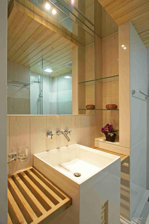 木质卫生间设计