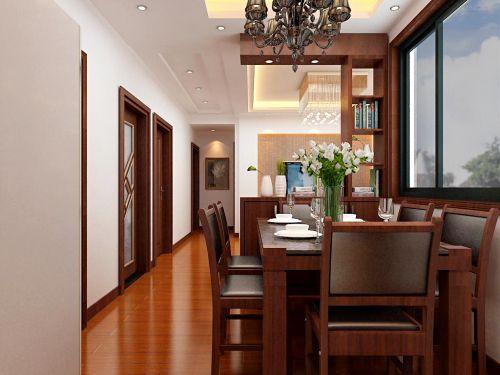 典雅中式餐厅装潢案例