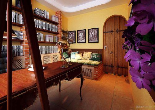 欧式木质书房装饰