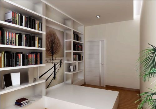 干净简单书房设计