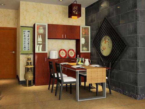 雅致新中式餐厅设计大全
