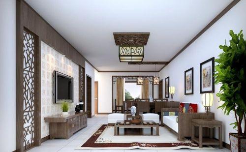 新中式客厅图片赏析