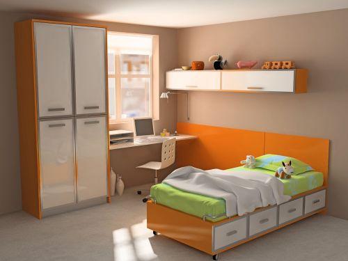现代儿童房室内装修设计图片欣赏